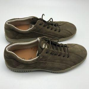 Ecco Women's Nubuck Leather Sneakers